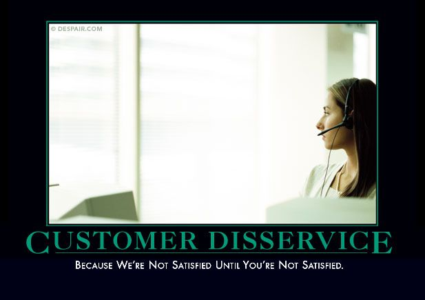 This has to be the poster hanging in the call centers of the credit card companies I call.