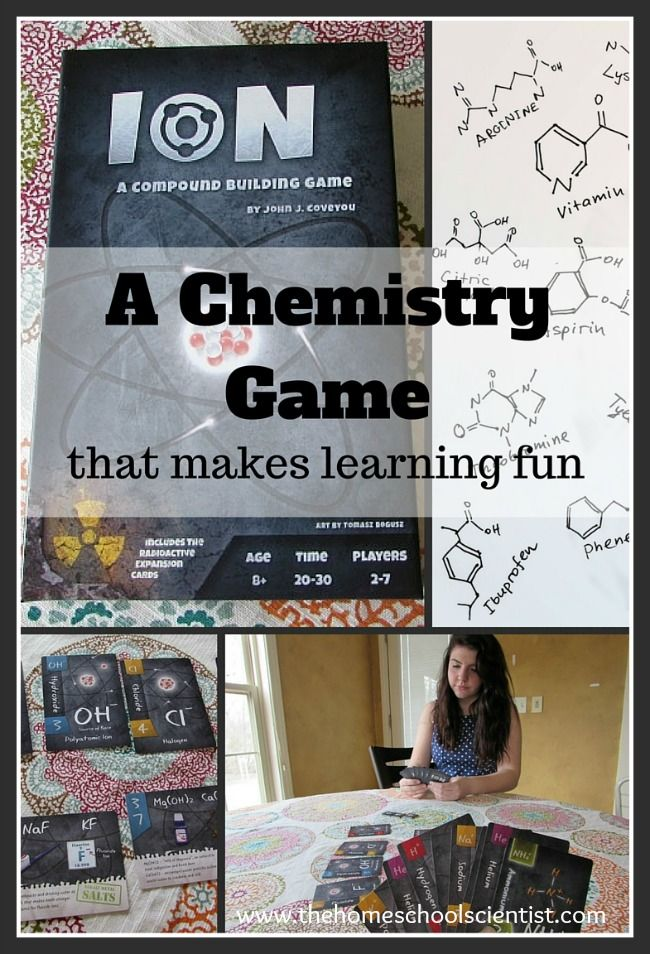 Chemistry Games | Online Learning ... - Fun Educational Games