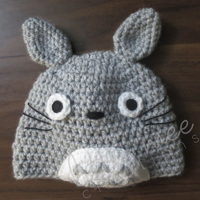 My Neighbor Totoro Beanie Hat pattern by Doris Yu