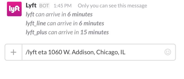 You Can Now Hail A Car Ride Home With Slack