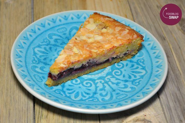 Duizenden1dag: Bakewell taart met kersen (januari 2014)