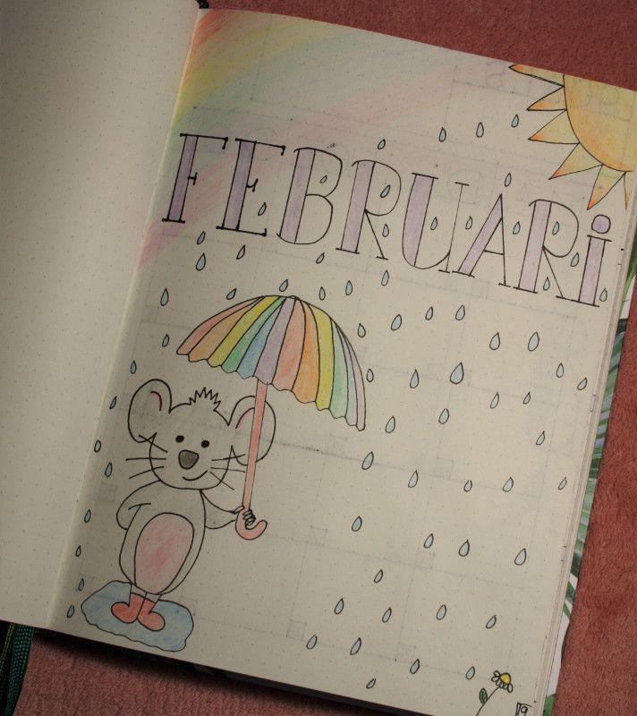 Bullet journal #1 - februari