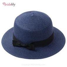 Fashionable Straw Flat Brim Bowknot Beach/Sun Hats – Fashion Hats At Bridelily