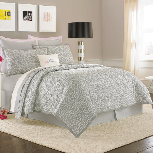 kate spade new york Spring Street Willow Way Quilt, 100% Cotton - Bed Bath & Beyond