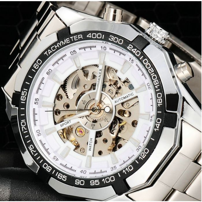 17 best images about stunning men s watches by addic winner luxury metal chain mechanical mw005 watch for men out battery for life