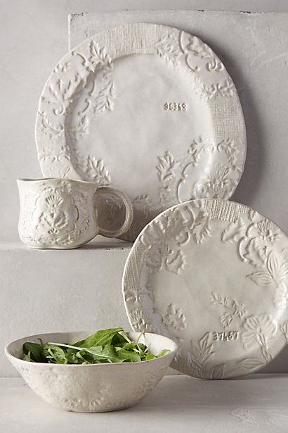 Forest Walk Dinner Plate from anthropologie