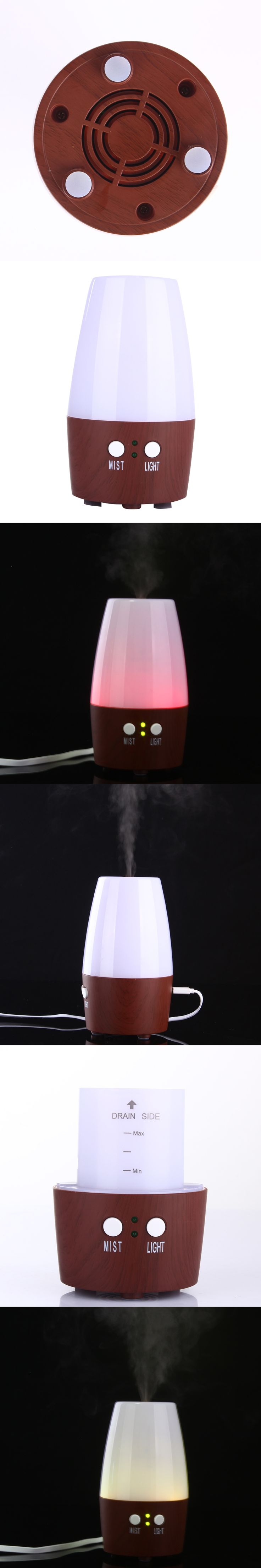 Dripping Mini Usb Ultrasonic Humidifier Aromatherapy Diffusers Atomizer Home Air Purifier Mist Maker Humidifiers