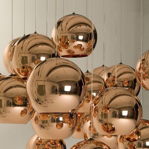 Copper Shade Pendant & Tom Dixon Copper Shade Pendants | YLiving