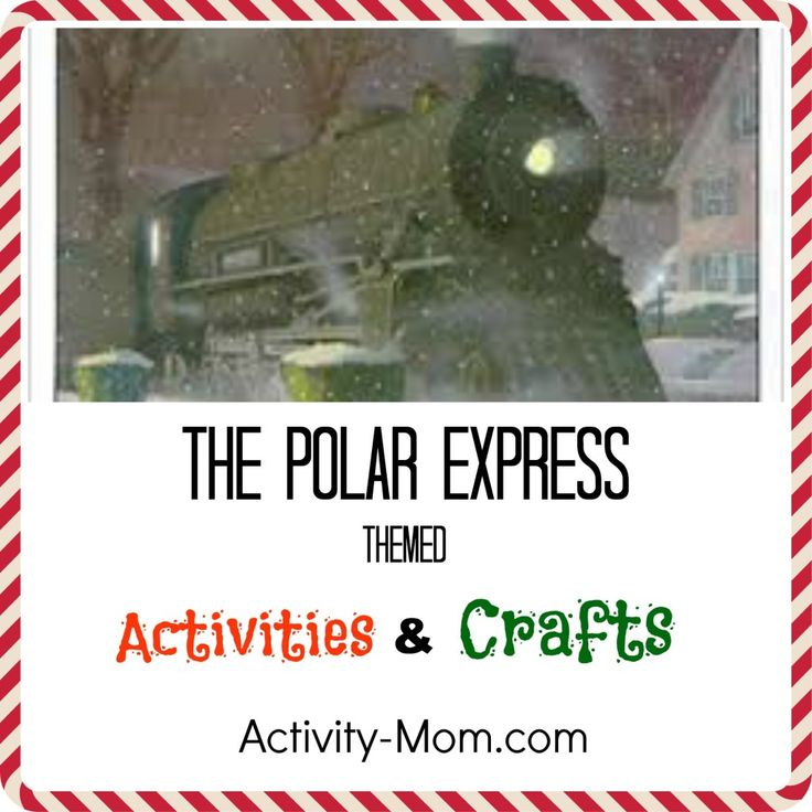 The Polar Express by Chris Van Allsburg has become one of our family's favorite Christmas books! Here are several fabulous activities and crafts to go along