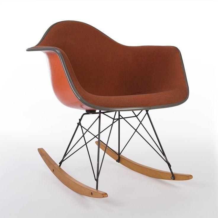 Les 25 meilleures id es de la cat gorie chaise bascule eames sur pinterest - Eames chaise bascule ...