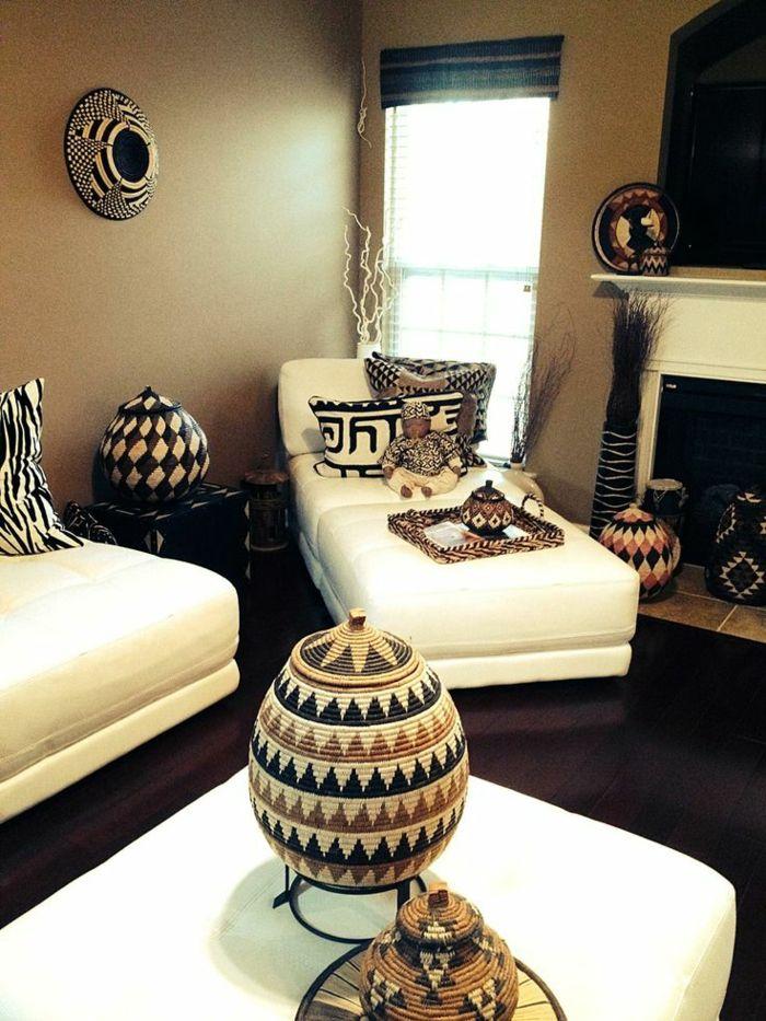 les canapés blanches sont très convenables pour décorer son salon