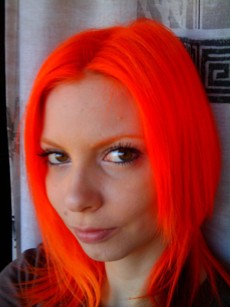 133 Best Orange Hair Images On Pinterest Colourful Hair