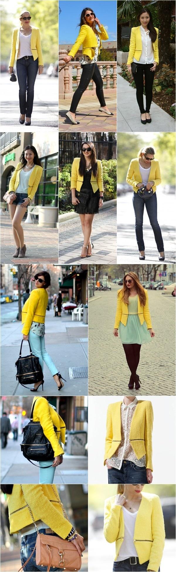 zara-blazer-amarelo #EasyPin