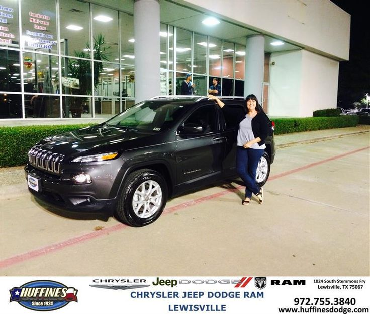 https://flic.kr/p/MVwXHs | #HappyAnniversary to Rebekah and your 2015 #Jeep #Cherokee from Brett Kelley at Huffines Chrysler Jeep Dodge Ram Lewisville! | www.deliverymaxx.com/DealerReviews.aspx?DealerCode=XMLJ