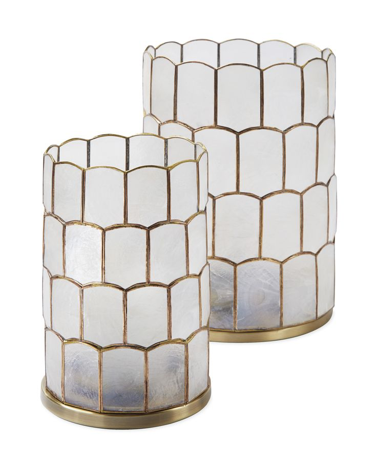 Always looking for opportunities to bring texture and dimension into a room, we fell in love with this beautiful design. The round shape brings a touch of the ethereal, with gold tones that add a little extra lustre. And the capiz shells themselves are the perfect natural diffuser, illuminating your space with a soft, warm glow.