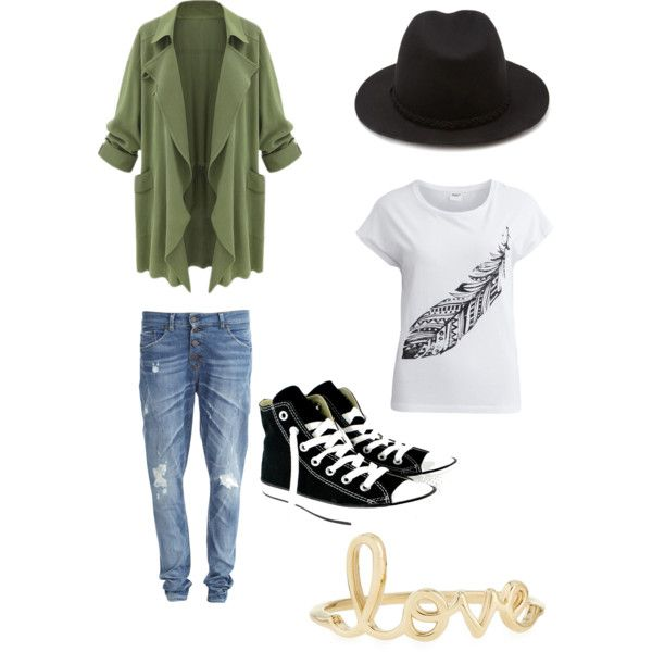 FromNorah by fromnorah on Polyvore featuring Object Collectors Item, Converse, Sydney Evan and Forever 21
