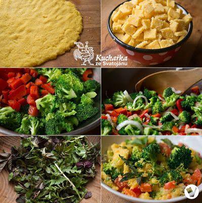 Polenta s brokolicí