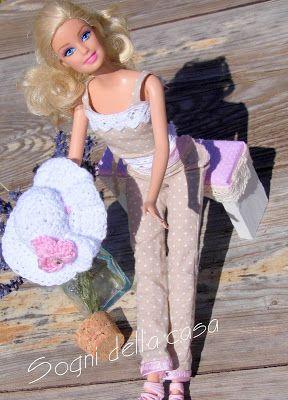 Sogni della casa  ...láska snívať a tvoriť ...: Háčkovaný klobúčik pre bábiku