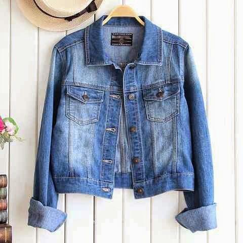 Jacket Jeans Jupe Washed ORI Bahan Jeans Washed Super (adem, tebal & lembut) Ukuran baju all size ( bisa S, M, & L ) harga 80 rb aje