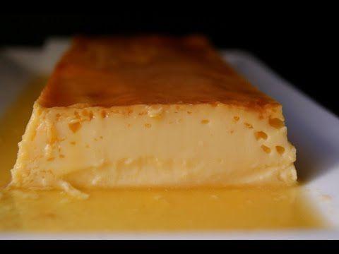 Flan de nata (crema de leche)   Cocina                                                                                                                                                                                 Más