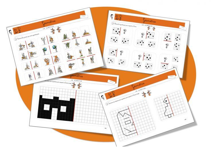 Maths: Géométrie: la symétrie - Bout de gomme