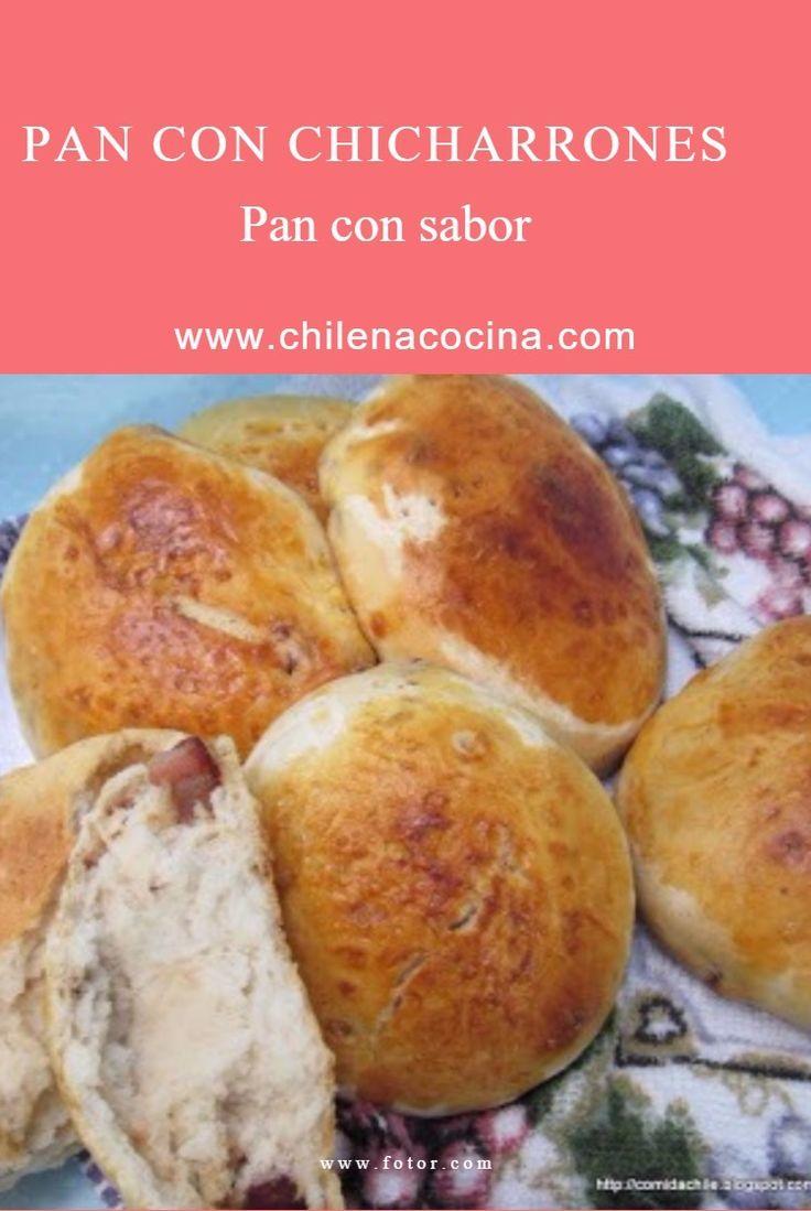 Pan con un sabor a campo Pan con chicharrones