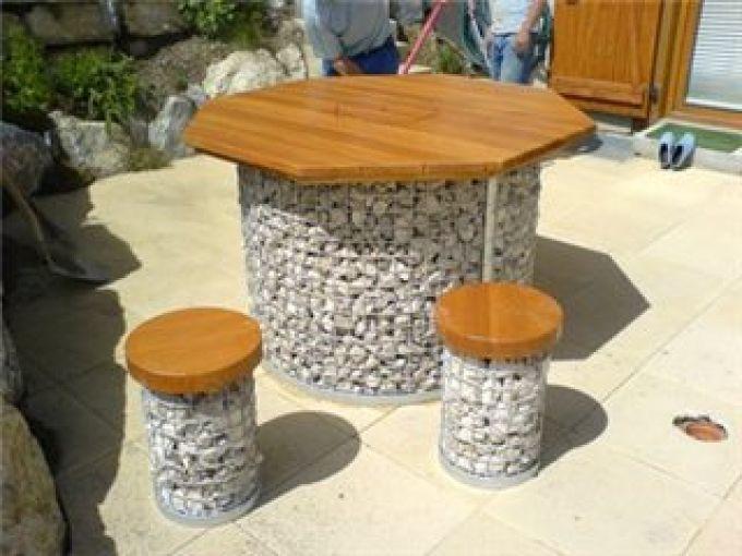 мебель из габионов