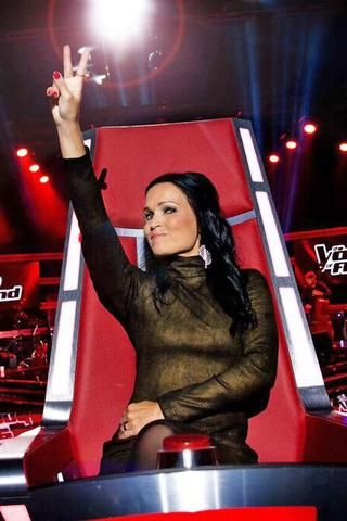 Tarja Turunen at The Voice of Finland 2016