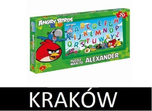 Kup teraz na allegro.pl za 29,00 zł - Angry Birds Rio. Literki. Puzzle Maxi KRAKÓW (6822693098). Allegro.pl - Radość zakupów i bezpieczeństwo dzięki Programowi Ochrony Kupujących!
