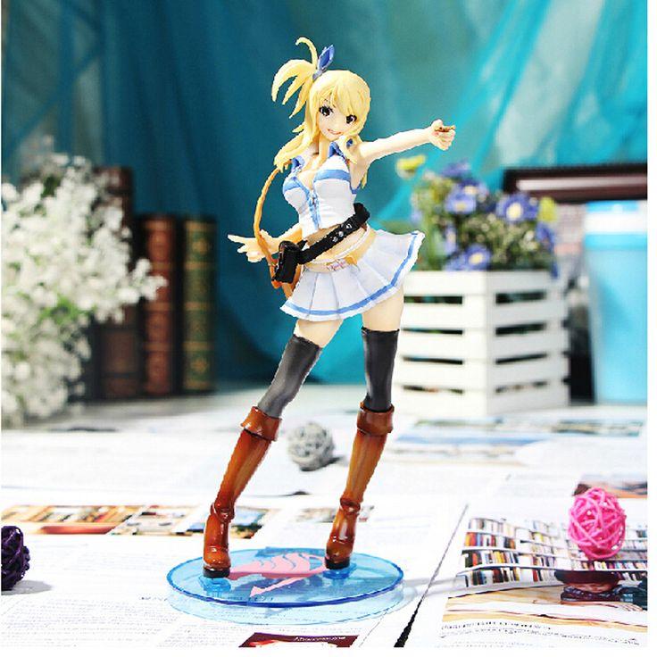 Pas cher 2016 Hot 1 Pc échelle 23 cm PVC bande dessinée Lucy Heartfilia Anime Cosplay Fairy Tail Figure, Acheter  Jouets-figurines et figurines articulées de qualité directement des fournisseurs de Chine:            Matériel: PVC                             Couleur: comme image                             Taille: 23 cm