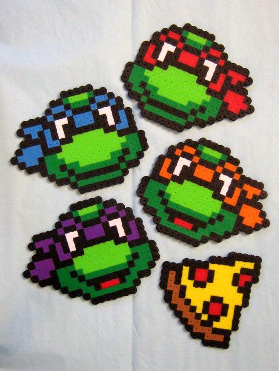 18 Besten Ninja Turtles Bilder Auf Pinterest: 5pc TMNT MAGNET SET // Teenage Mutant Ninja Turtles With