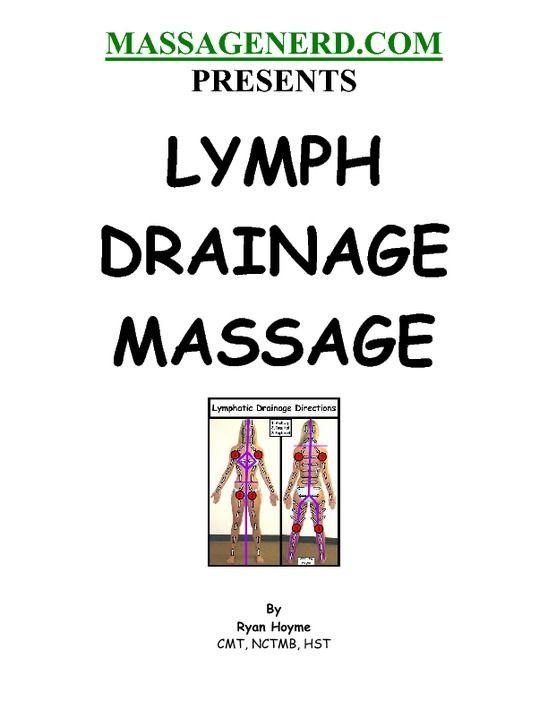 Can Facial massage to help lymph curious