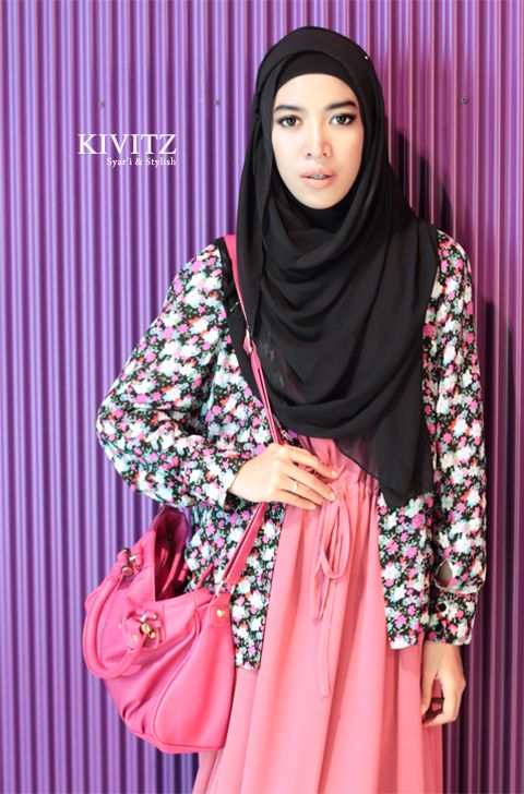 flowery blazer