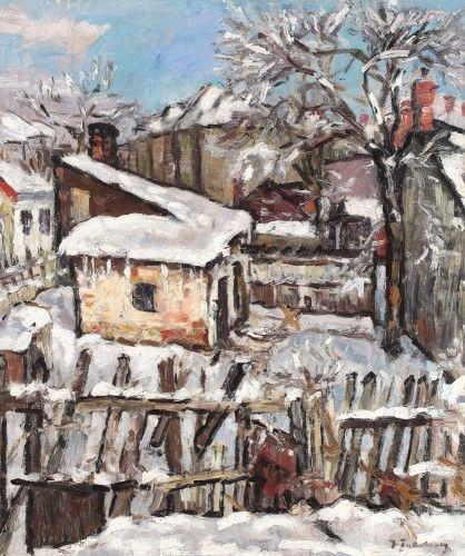 Iarna în mahala