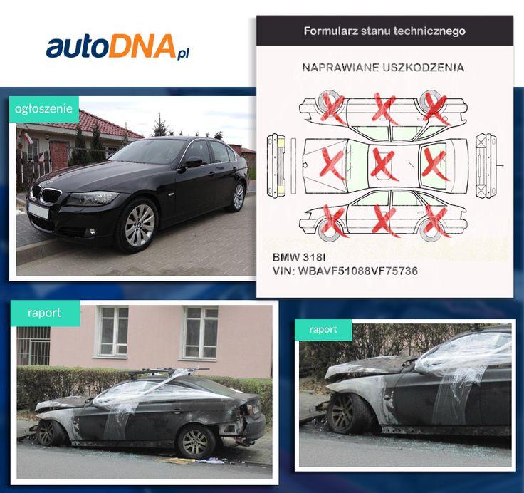 Baza #autoDNA - #UWAGA! #BMW serii 3 https://www.autodna.pl/lp/WBAVF51088VF75736/auto/d3fd7388b1b92a9f34d5eae53f3b85dda3d5c304 https://www.otomoto.pl/oferta/bmw-seria-3-bmw-serii-3-2-0i-salon-polska-bixenon-skory-lift-ID6yTlmP.html