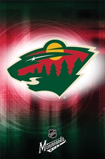 Minnesota Wild Official NHL Team Logo Poster - Costacos Sports