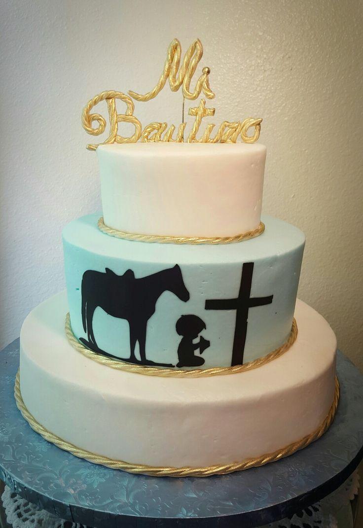 Mi Bautizo My Christening Cake Boy baptism