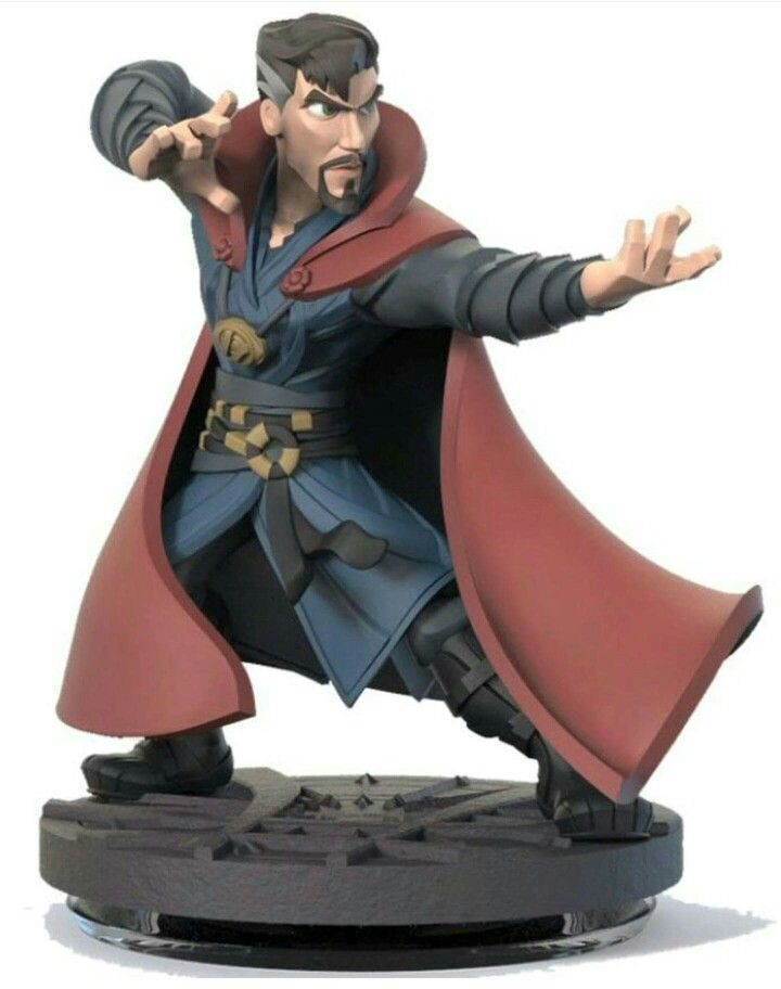 Leaked concept art of the now cancelled Doctor Strange Disney Infinity figure