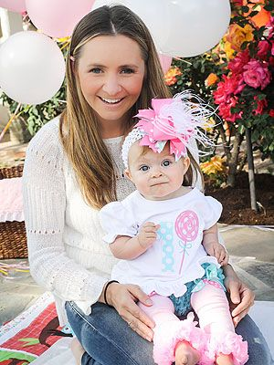 Beverley Mitchell daughter Kenzie birthday