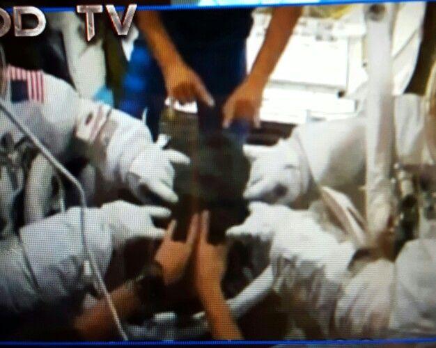 """NASA ISS Idolatry. Satanic pagan """"rituals."""""""
