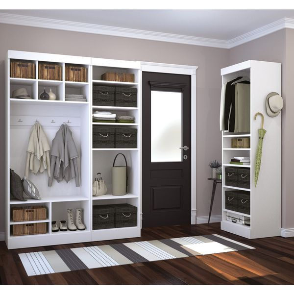 Pur by Bestar 86-inch Mudroom Kit - Overstock™ Shopping - Great Deals on Bestar Closet Storage