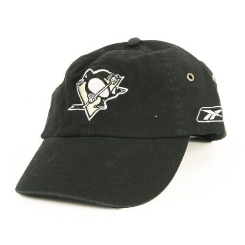 Pittsburgh Penguins Black Slouch Fit Adjustable Baseball Hat by NHL. $17.95. Officially licensed headwear. One size fits most ages 13+. Makes the perfect gift or self purchase. Show off your team spirit in this great, officially licensed hat!