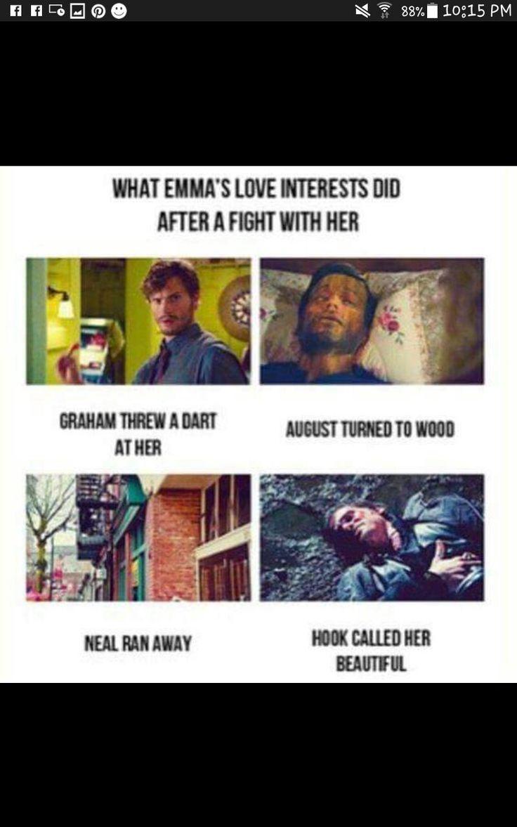 hook is her real love she deserves him