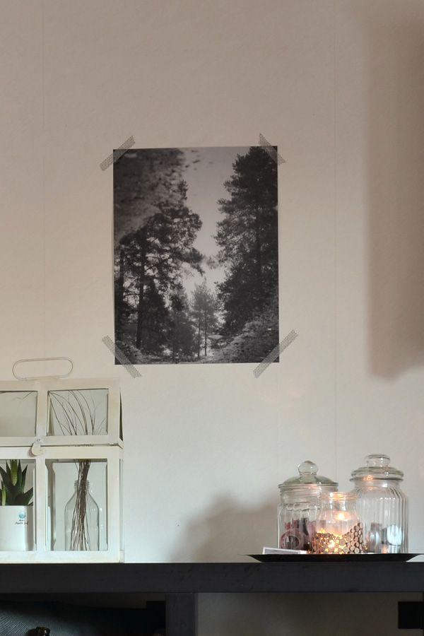 Spegel, ett print i posterformat från HojnaDesign.se