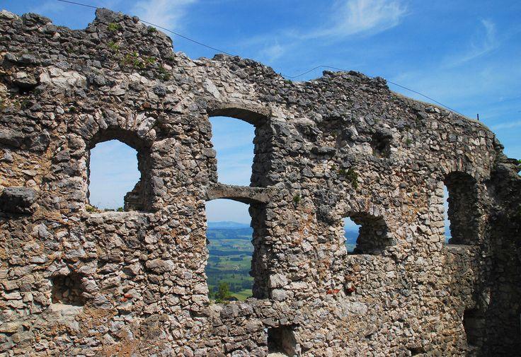 Pfronten (Allgäu)  Burg Falkenstein, Ruine