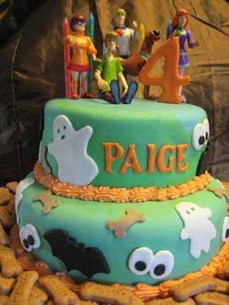Cake ideas scooby doo cake and cake templates on pinterest for Scooby doo cake template