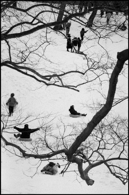 Bruce Davidson 1992. USA. New York City. 1992. Central Park
