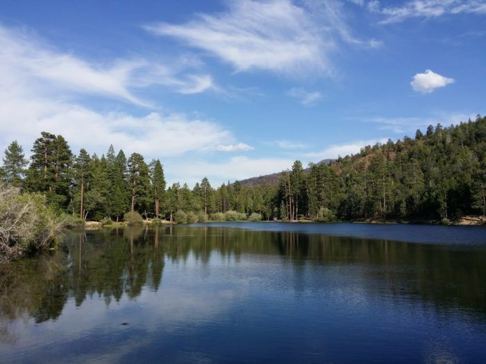 You'll want to head to the San Bernardino National Forest to find one of my favorite lakes in all of SoCal -- Jenks Lake.
