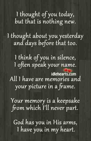 I miss you daddy! 10 years today he passed, miss him just as much now as I did that day...