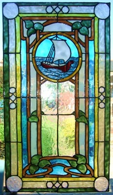 63 best images about window and doors on pinterest for Victorian stained glass window film